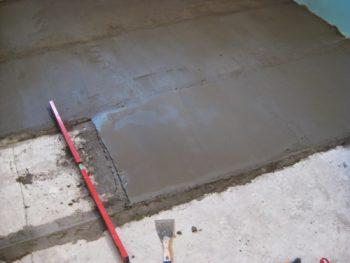 олифить бетон